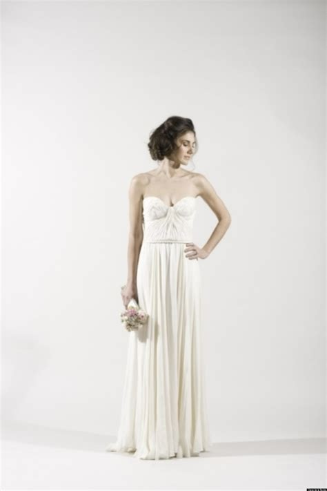 grecian wedding dresses for a goddess inspired look photos