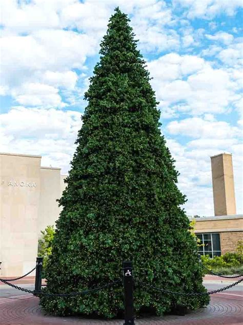 38 to 30 foot commercial christmas trees mini led lights