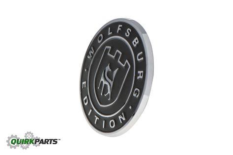 volkswagen wolfsburg emblem oem new vw volkswagen wolfsburg edition badge emblem