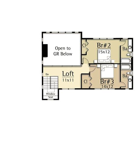 great house plans modern house plan with two story great room 18830ck architectural designs house plans