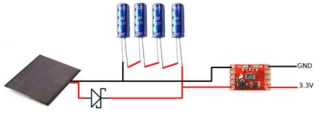 how to charge a capacitor with solar cell simple solar power news sparkfun electronics