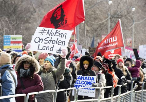 saturday star travel section protesters march in toronto u s and u k over