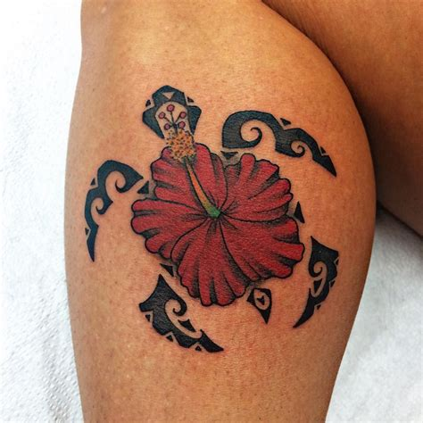 tribal hawaiian flower tattoo hawaiian designs and meanings hibiscus flower