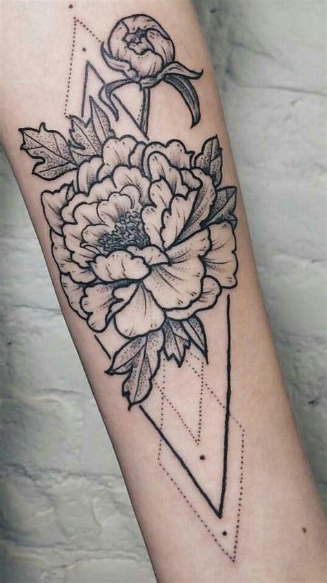 geometric tattoo mini best 25 geometric flower tattoos ideas on pinterest