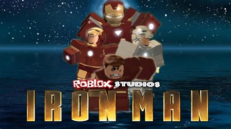 roblox studios iron man fan trailer youtube