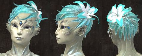 Gw2 New Sylvari Hairstyles | gw2 new hairstyles in wintersday patch dulfy
