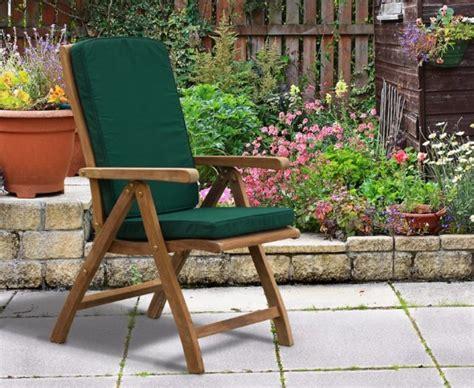 garden reclining chair bali teak outdoor recliner chair lindsey teak
