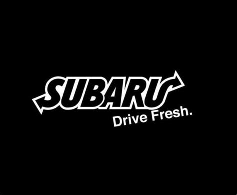 jdm subaru stickers subaru drive fresh jdm vinyl decal stickers custom