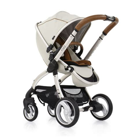 Cream Leather Chair Babystyle Egg 174 Stroller