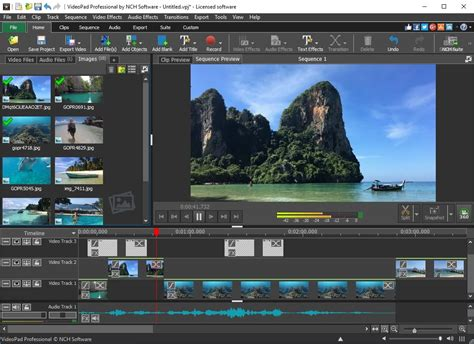 videopad video editing software free download full version download free videopad video editor by nch software
