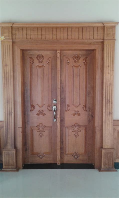 kerala style home front door design kerala style carpenter works and designs may 2015