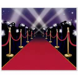 6ft hollywood vip awards night red carpet party wall mural