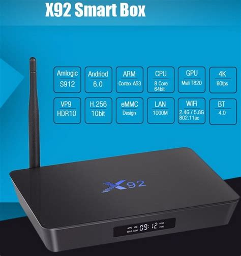 android tv box reviews x92 tv box review by android tv box review android 6 0