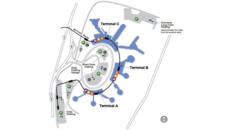 ewr airport map airport map airport guide newark liberty international airport port authority of new york