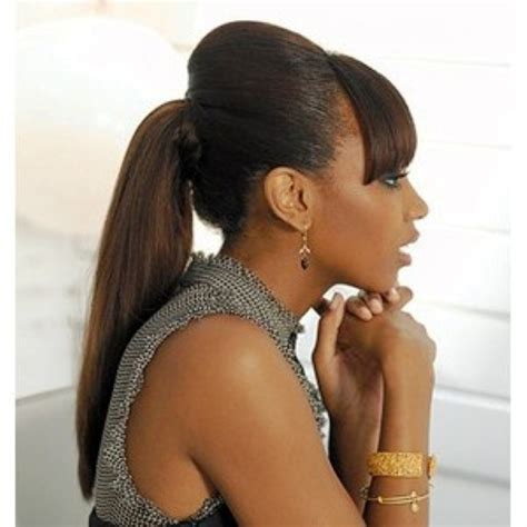 ponytail hairstyles for black women 12 best ponytail hairstyles for black women with black hair