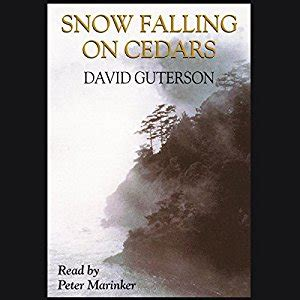 snow falling books snow falling on cedars audiobook david guterson