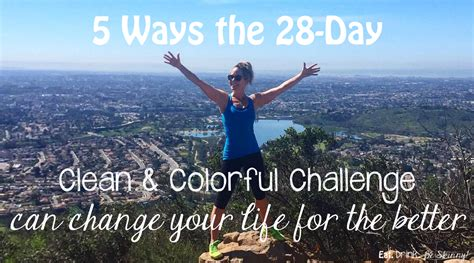 28 day clean challenge post 5 ways the 28 day clean colorful challenge