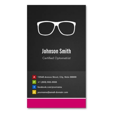 optometry business cards templates free 17 best images about optometrist business cards on
