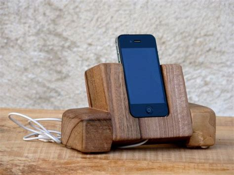 sale wabi sabi wooden iphone dock station charging