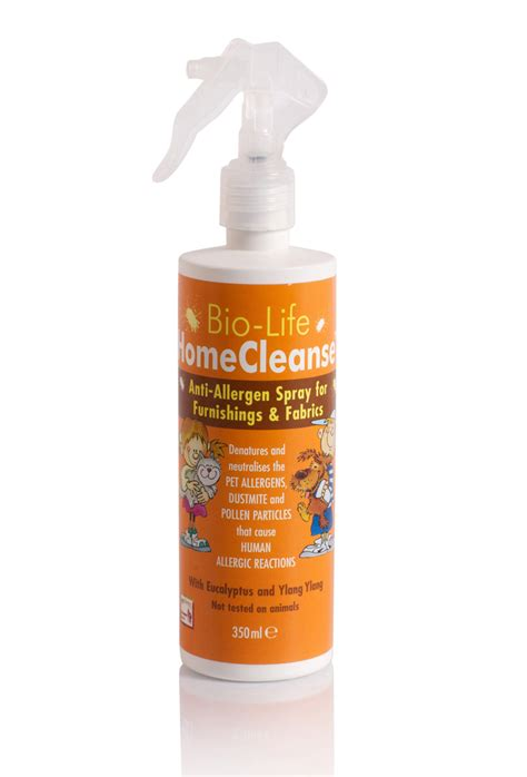 bio home cleanse allergy spray from allersafe