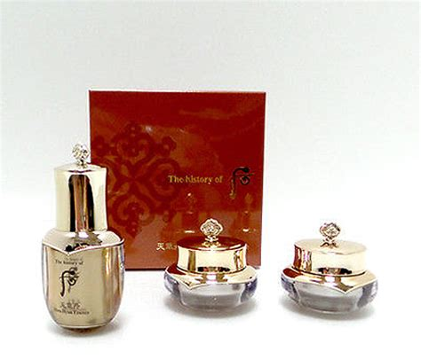The History Of Whoo Hwa Hyun Special Gift Set Sle Kit 3 Items korean cosmetics the history of whoo hwa hyun special giftset 3 items chungidan ebay