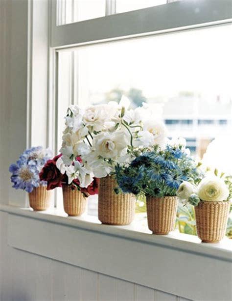 Flowers On Window Sill Flower Window Box