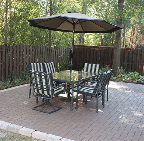 build a patio with composite pavers how to