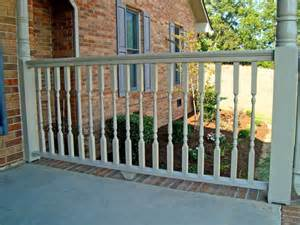 porch banisters 2 quot porch spindles turned deck balusters exterior railing