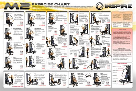 home exercise chart