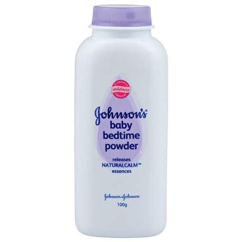 buy johnson johnson johnson s baby bedtime powder 100g