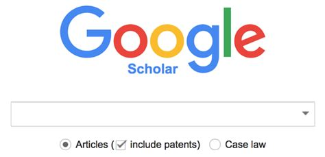 Scholar Search Is It Possible To Exclude Patents In Scholar Search
