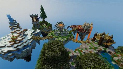 pvp island minecraft map elemental delusion pvp map minecraft project