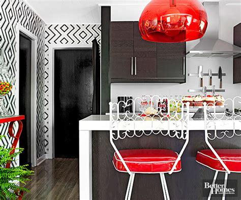 wallpaper meja dapur cara kreatif aplikasikan wallpaper di dapur rumah dan