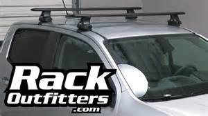 chevrolet colorado crew cab thule black aeroblade roof