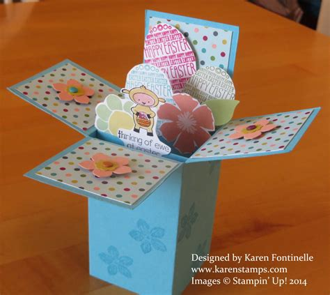 pop up easter card templates easter sting with
