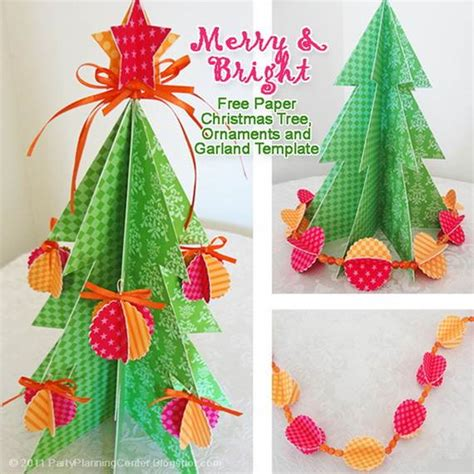 printable paper christmas decorations christmas handmade paper craft decorations family