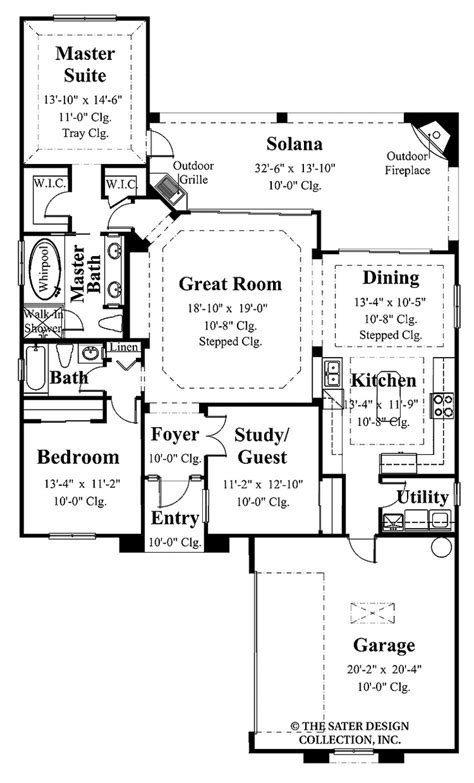 Narrow Lot Plans Master Suite Floor Plans Master Suite With His And Hers