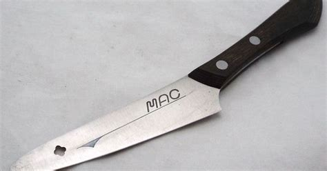 mac kitchen knives vtg razor sharp mac japan 4 quot blade mini santoku chef