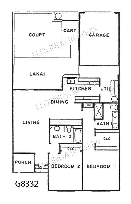 garden home floor plans sun city west g8332 garden home floor plan