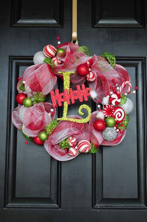 diy til we die easy christmas mesh wreaths