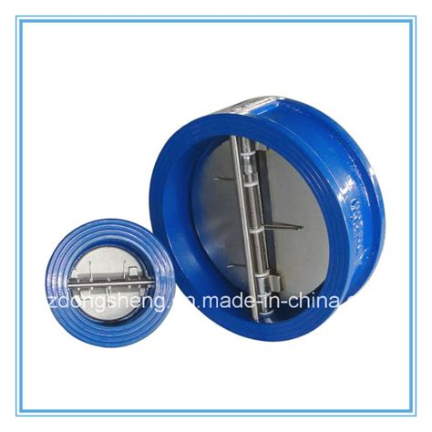 ductile iron flap wafer check valve china valve products