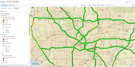 road maps and directions arcgis 10 1 how to display two line traffic road map
