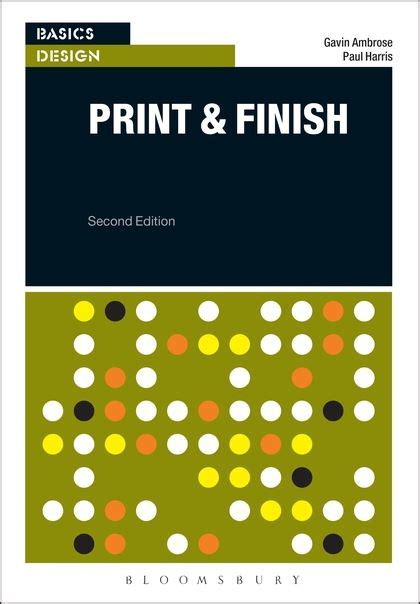 basics design print and basics design print and finish basics design gavin ambrose fairchild books