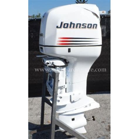 used 2001 johnson 150 hp 2 stroke outboard motor
