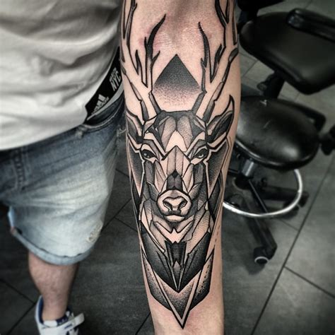 140 attractive deer tattoos and meanings april 2018