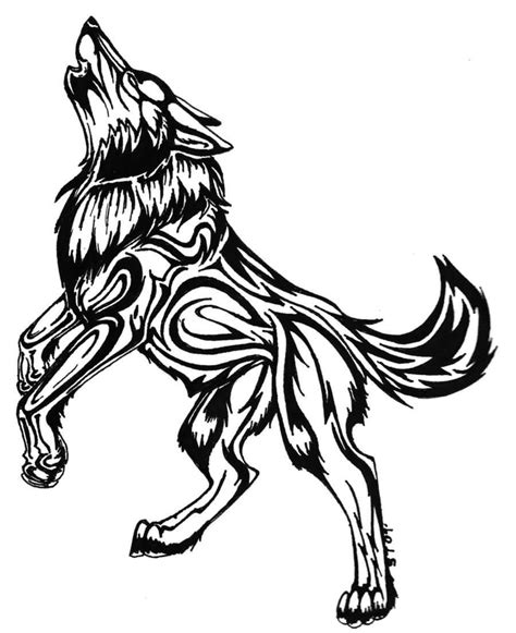 50 Amazing Wolf Tattoo Designs Golfian Com Black Wolf Designs