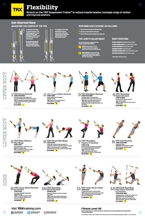 trx all workout and flexibility on