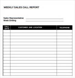 sales templates free sle sales call report 7 documents in pdf word excel