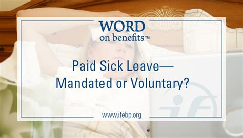 paid sick leave mandated or voluntary