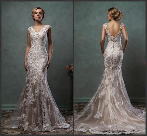 arrival 2016 mermaid wedding dresses color v neck